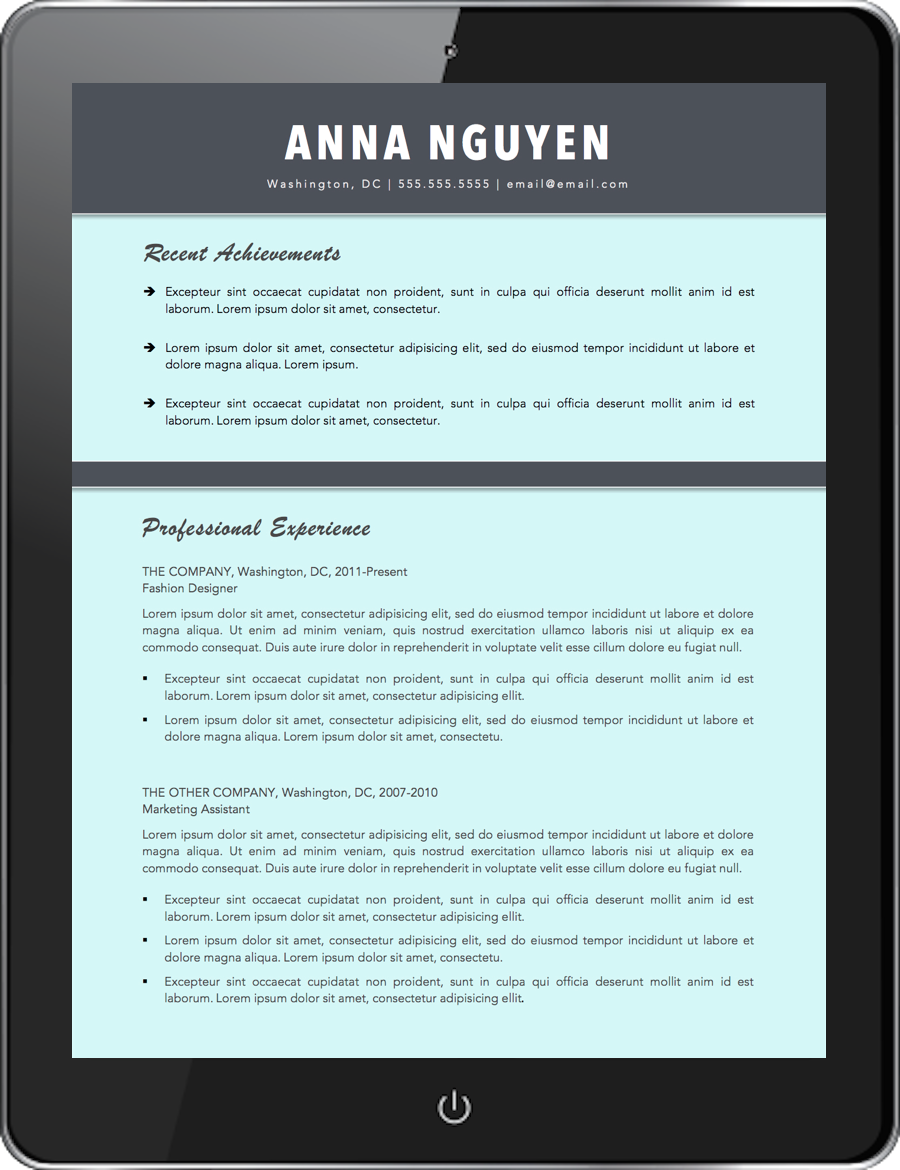 modern best resume templates canva emphasize career highlights on